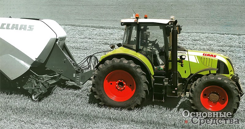 [b]Рис. 6[/b] Claas Arion 640 (4К4а)