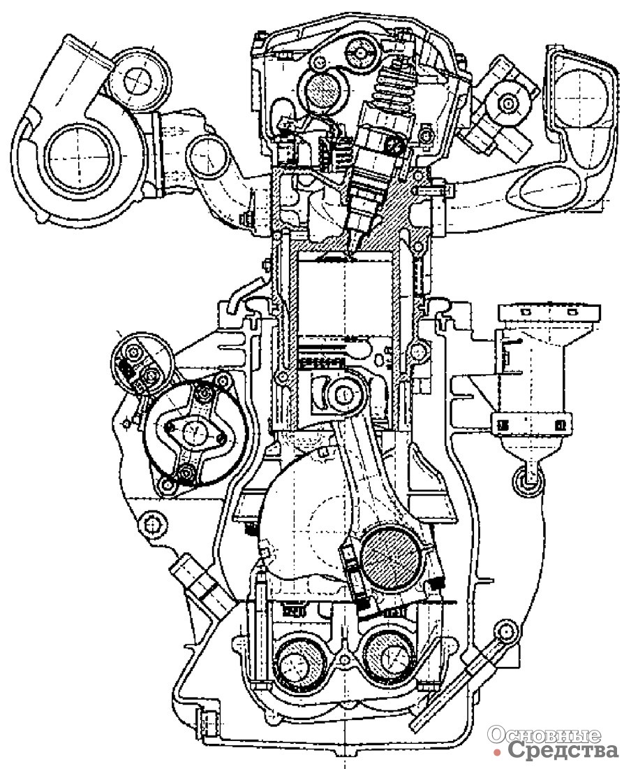 схема двигателя штаер